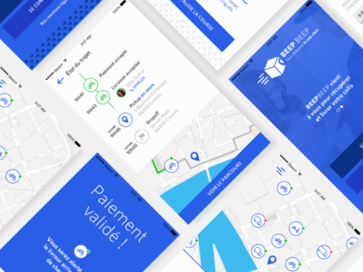 FREE .SKETCH : Flat UI Delivery app!