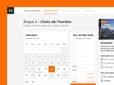 WIP – Augmented Reality UI • Calendar form