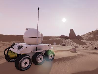 R0V3R - In Game Screenshot