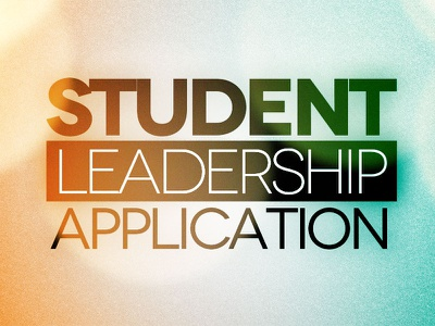 Student Leadership Application