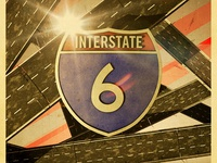 Interstate 6 Poster A