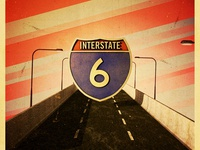 Interstate 6 Poster B