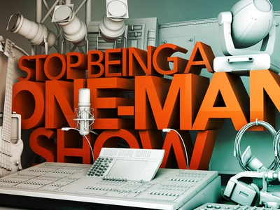 Stop Being a One-Man Show c4d