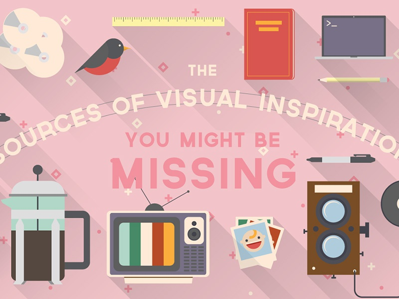 The Sources of Visual Inspiration You Might Be Missing illustration
