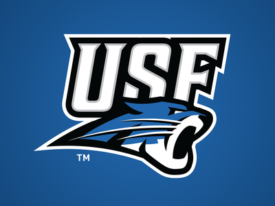 USF Cougars Concept cougars logo design sports logo college sports branding