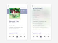 Music app ui exercise