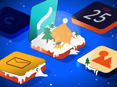 How to Add Snow to Your iOS App Blog Post snowflakes snow celebrations christmas app ux ui celebration vector graphic illustration lottiefiles design