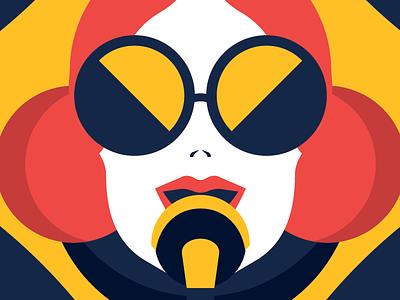 IDEA360 Podcast Artwork - 23 behance geometric geometry pastels vector vectorillustration adobeillustrators adobeillustrator illustrator fashion fashionillustration podcast