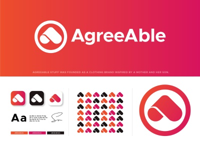 Agreable Stuff | Logo Design minimal typography branding logodesigner graphicdesign design graphicdesigner monogram logotype logodesign logo dribbble behance