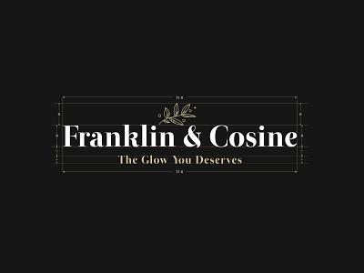 Franklin Cosine | Cosmetics Brand | Logo Design logodesigner beauty cosmetics branding graphicdesign design monogram graphicdesigner logotype logodesign logo dribbble behance
