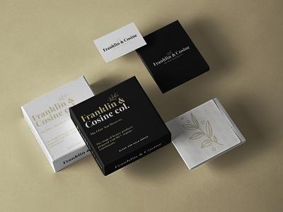 Franklin & Cosine | Logo and Brand Design professional luxury minimal graphic freelancer logofolio logoinspirations branding logodesigner graphicdesign design monogram graphicdesigner logotype logodesign logo dribbble behance