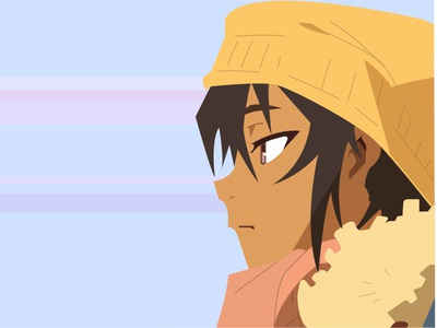 Abigail Jones - Great Pretender illustrator illustration designs animeart anime animation design
