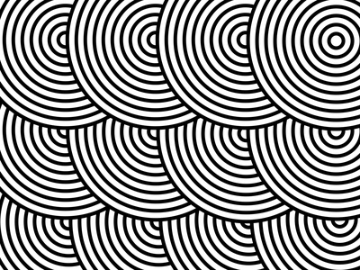 Spiral Monochrome designs vector illustration illustrator design