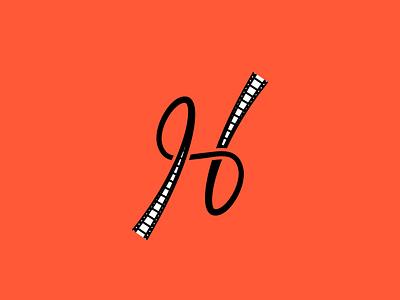 Letter H Film Reel logo concept movie production lettermarks lettermarkexploration movie logo custom lettering customtype letters lettermark logo lettermark vector freelogo design dailylogo logooftheday freecontent logodesigner logodesign logo mrbranding