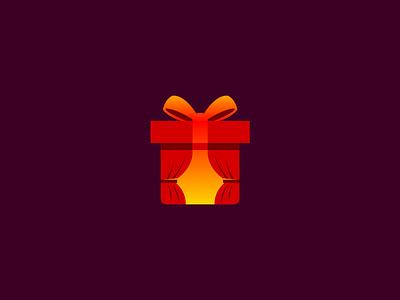 Open Gift Logo Concept giftbox colorful inspiration unique openlogo curtainlogo giftlogo open curtain gift dailylogo logooftheday easybranding freecontent freelogodesign logodesigner freelogo logodesign logo mrbranding