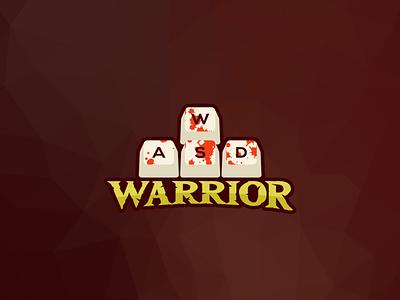 WASD Warrior Logo and Sticker design illustration free insipration wordmark logoemblem gamer tshirtart stickerdesign sticker gamingsticker wasd keyboardwarrior pcgames pcgaming gaming designer logodesigner logo logodesign mrbranding