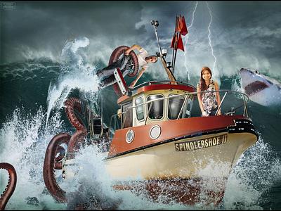 Jittirat Horst Pfrommer Octopus2 Logo Small logo web design branding illustration spindlershof altburg calw pfrommer horst