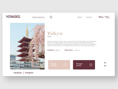 travel site branding flat minimal web typography site uxdesign uidesign apps design app uiuxdesign uiux ui travel