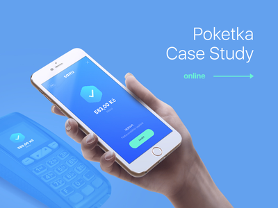 Poketka Case Study banking app banking bank contactless water fish payment app ux ui case studies casestudy vector branding animation logo design mobile app