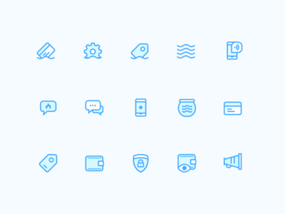 Saifu Icons 3 color 2 color mobile ui vector design illustration custom app icons