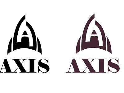 Axis icon logo vector illustration