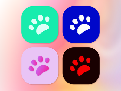 Daily UI 005 – App Icon pet dog app logo icon dailyui005 005 ui design dailyuichallenge dailyui