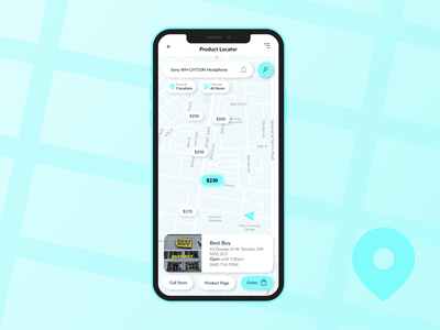 Daily UI 020 – Location Tracker electronics locator location map location tracker store locator tracking 020 dailyui020 design mobile app ui ux dailyuichallenge dailyui