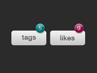 Tag and Like Buttons