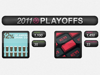 Dribbble Playoffs