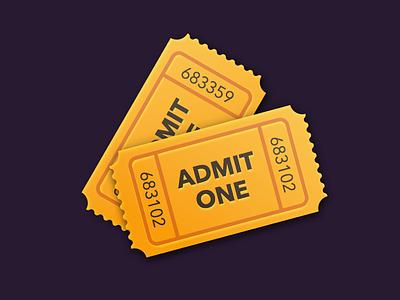 Tickets Icon ios iphone ipad apple icon best design ui ux designer mobile
