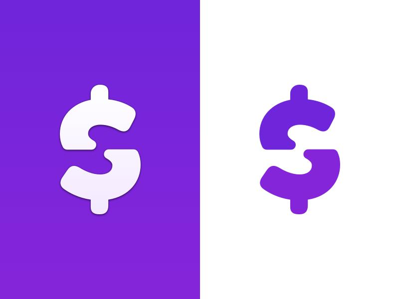 Got You Next Logo logo brand identity app design designer iphone application money purple