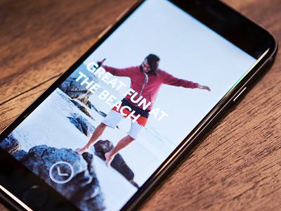 Stories product stories story designer design la best mobile iphone ios app