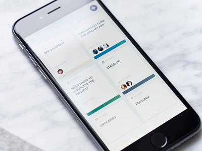 Cheddar app ui ux best ios iphone designer design product mobile app