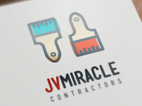 JV Miracle Contractors Logo