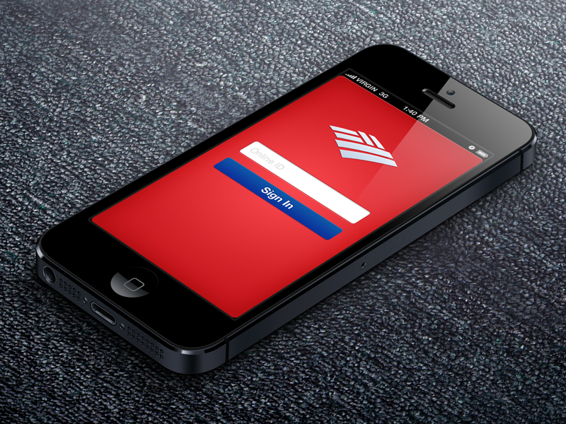 Bank Of America Sign In by Herson Rodriguez - Dribbble Bank Of America Sign In on
