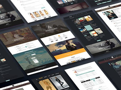 Collection Best Selling PSD Templates In Themeforest Psd Freebies Premium Creative