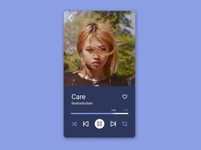 Daily UI 009 - Music Player music player design dailyuichallenge dailyui uidailychallenge uidaily