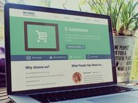 Website Design for the Digital studio