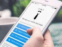 Mobile Data Manager App Design