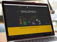 Development Company Website Design