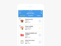 Tasks App Design