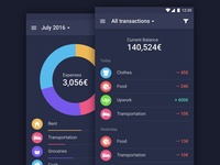 Financial App for Android
