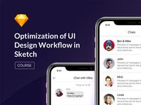 Optimization of UI Design Workflow in Sketch