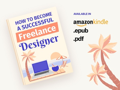 Book in Different Formats freelance book cover book books typography design vector branding illustration
