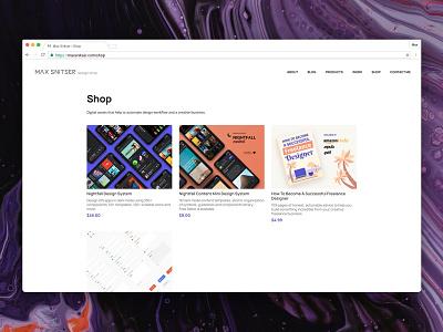 Design Shop website ecommerce shopping flat uxdesign ui design uikit dark shop sketch mobile design ios app ux ui