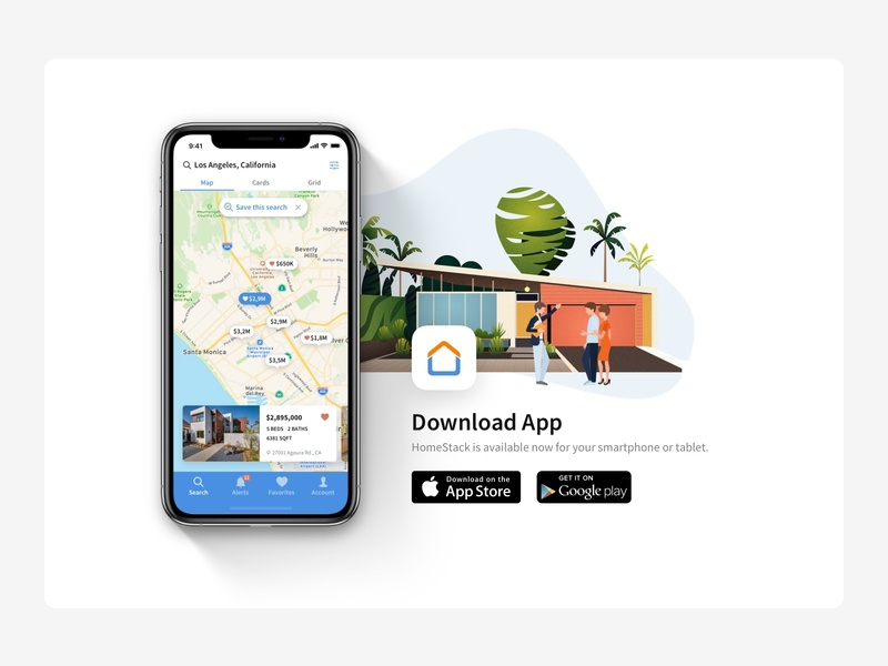 Download App Web page
