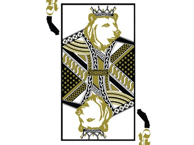 king of kings animal the proto art design vector character design procreate illustrator illustration grizzly bear bear