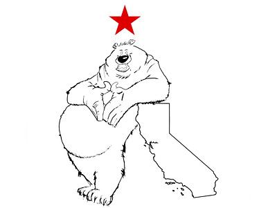 Chubby bear the proto art protoart protoart logo vector character design illustrator procreate illustration animals