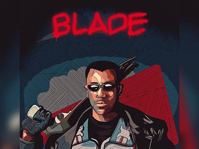 Blade vampires illustrator procreate character design the protoart protoart comic marvel comics
