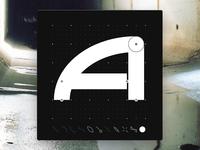 Letter A - CyberMunk Alphabet